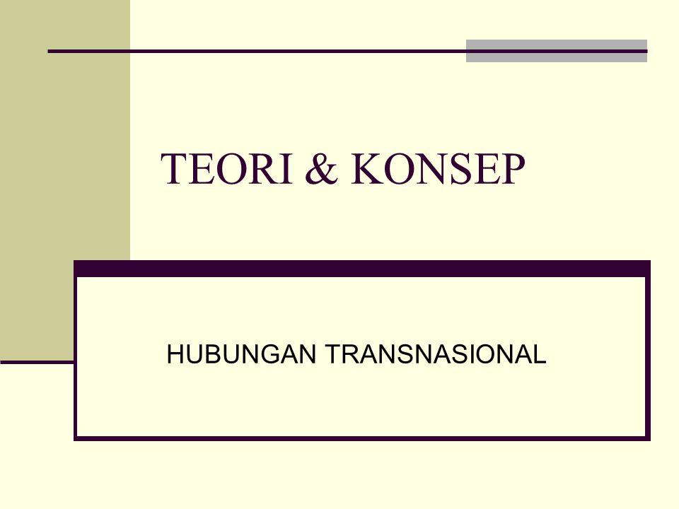 HUBUNGAN TRANSNASIONAL