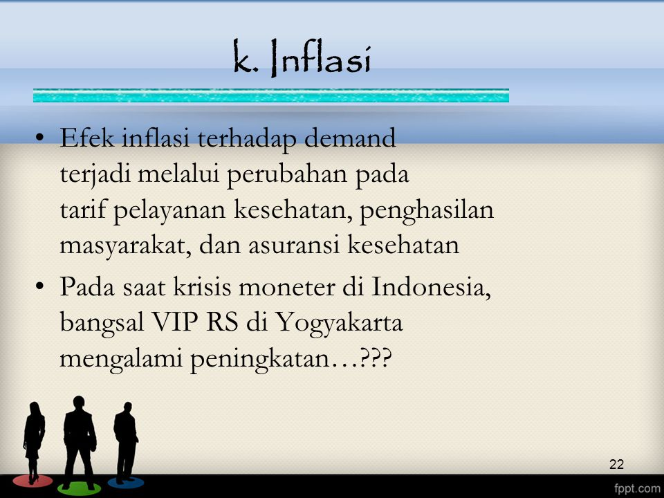 k. Inflasi