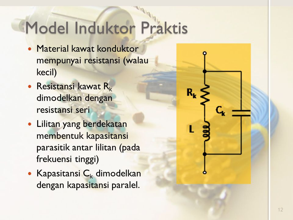 Model Induktor Praktis
