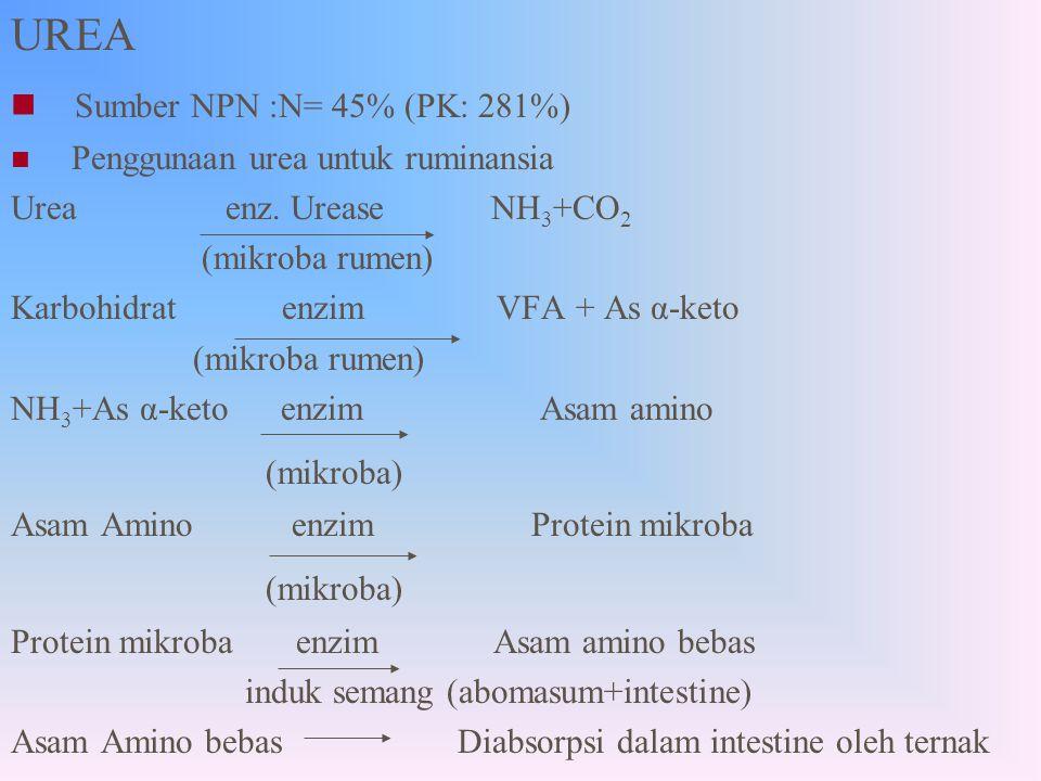 UREA Sumber NPN :N= 45% (PK: 281%) (mikroba)