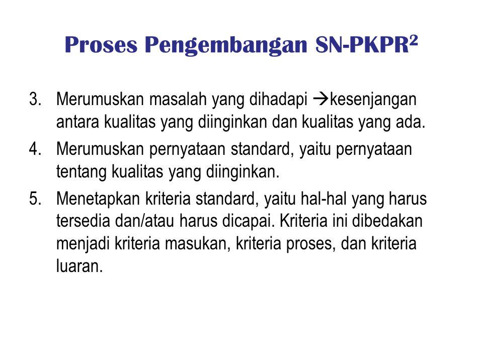Proses Pengembangan SN-PKPR2