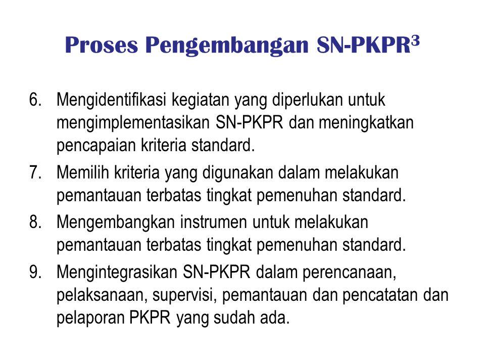 Proses Pengembangan SN-PKPR3