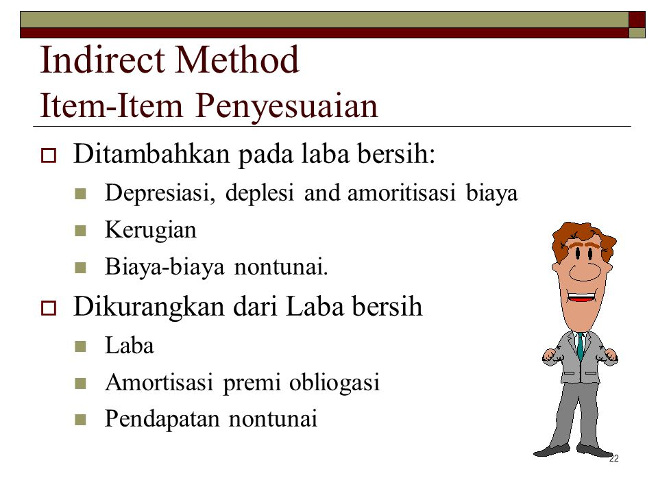 Indirect Method Item-Item Penyesuaian