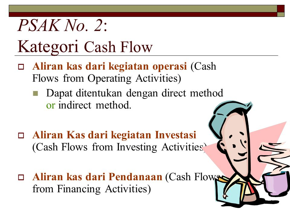 PSAK No. 2: Kategori Cash Flow