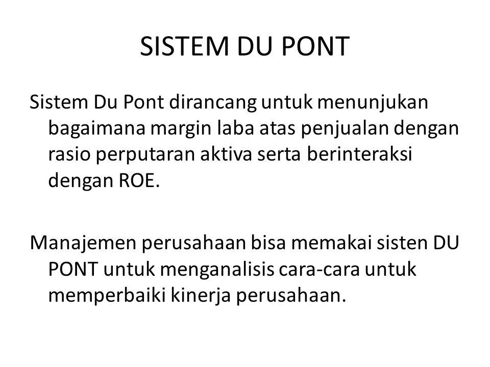 SISTEM DU PONT