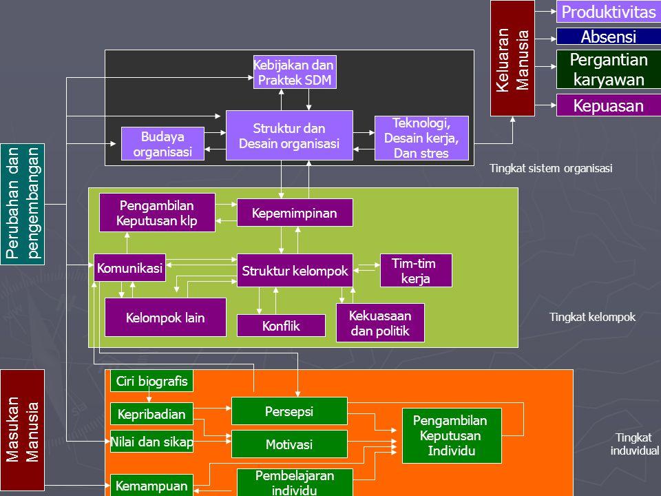 Tingkat sistem organisasi
