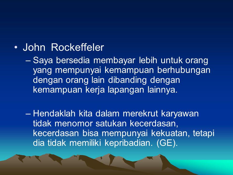 John Rockeffeler
