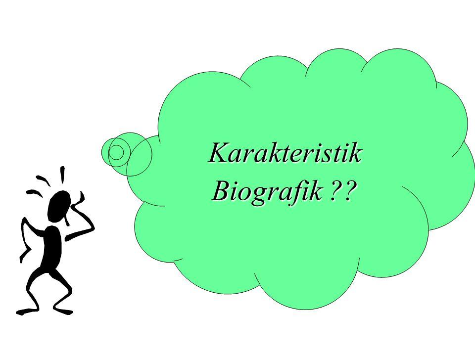 Karakteristik Biografik