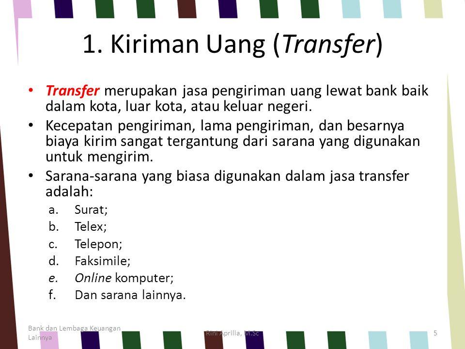 1. Kiriman Uang (Transfer)