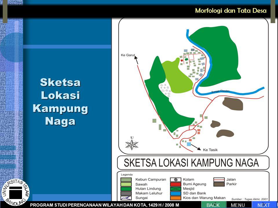 Sketsa Lokasi Kampung Naga