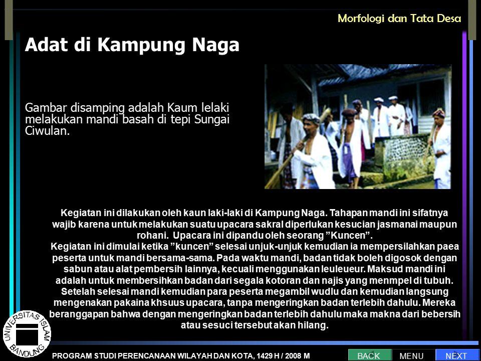 Adat di Kampung Naga Morfologi dan Tata Desa