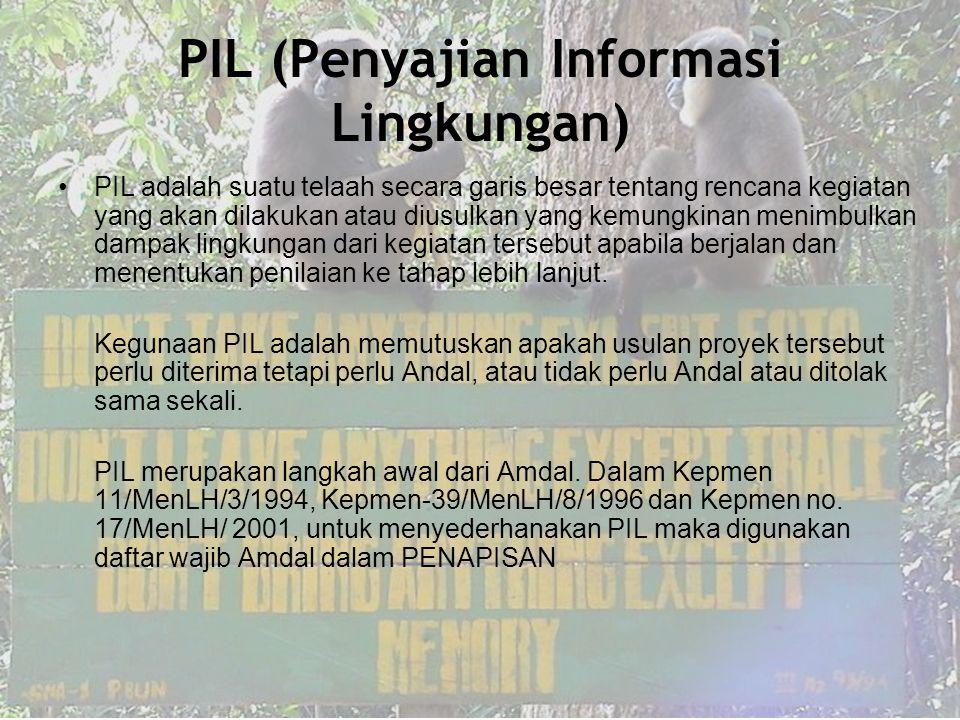 PIL (Penyajian Informasi Lingkungan)