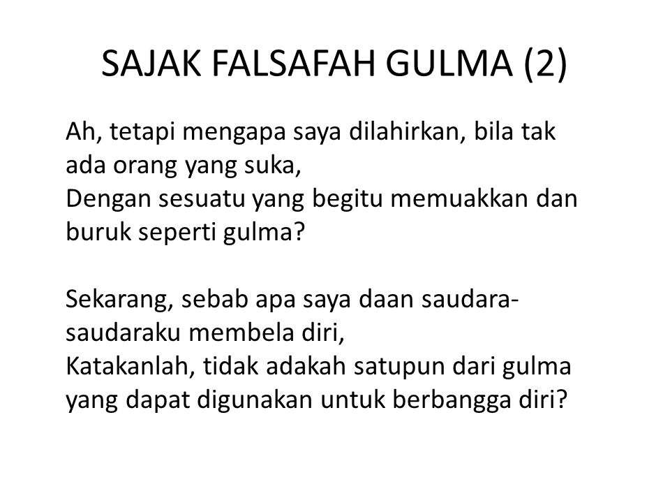 SAJAK FALSAFAH GULMA (2)