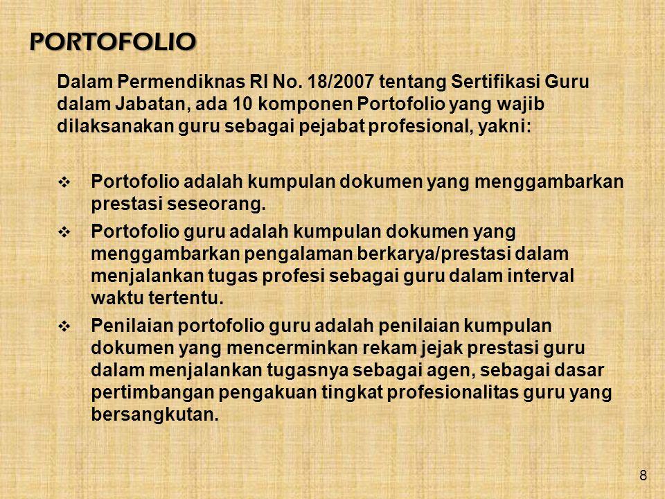 PORTOFOLIO