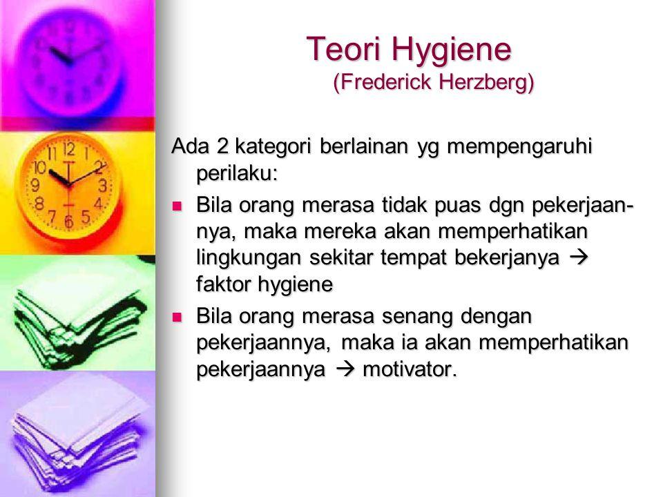 Teori Hygiene (Frederick Herzberg)