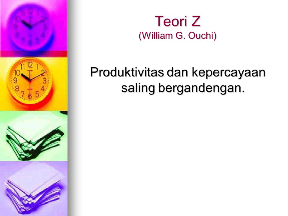 Teori Z (William G. Ouchi)