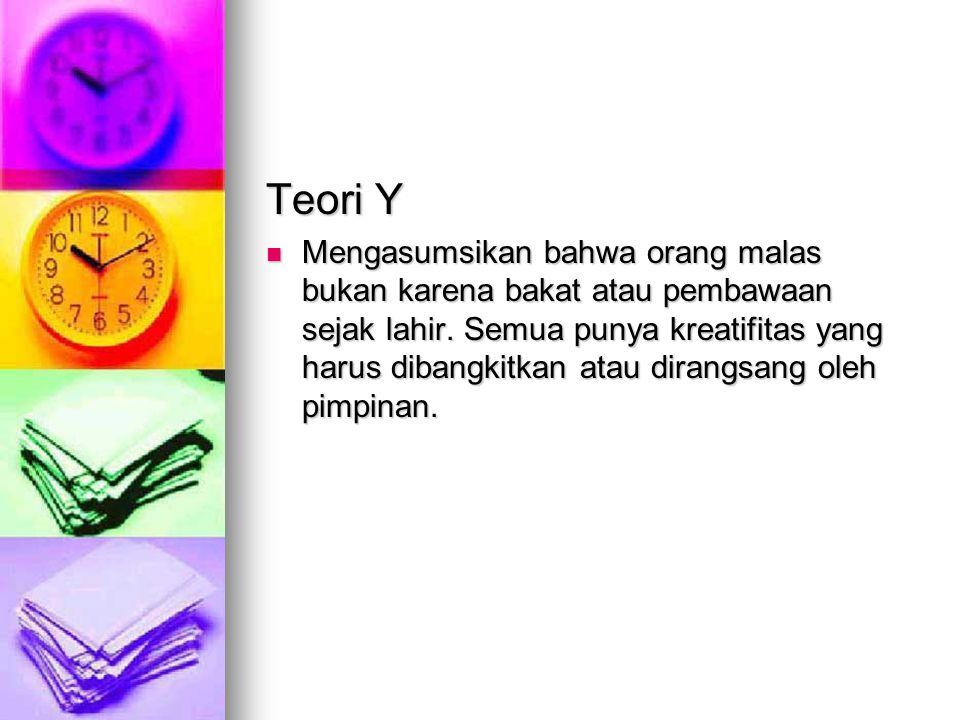 Teori Y
