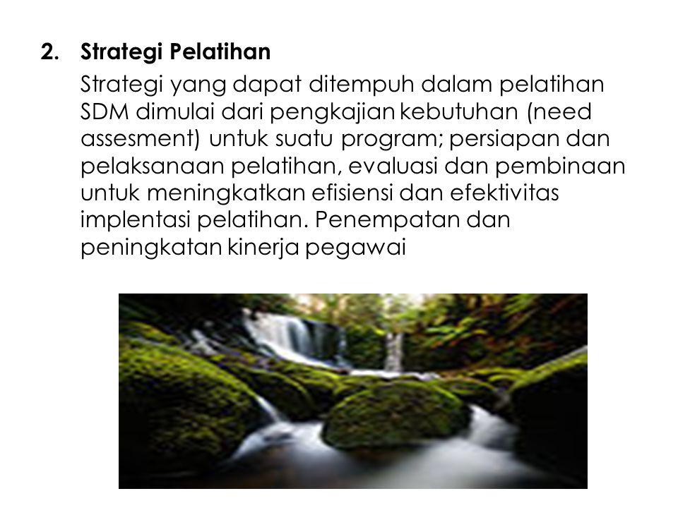 Strategi Pelatihan