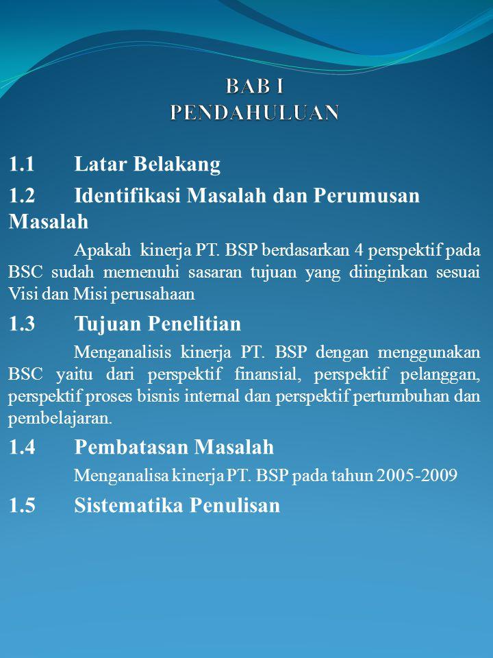 1.2 Identifikasi Masalah dan Perumusan Masalah