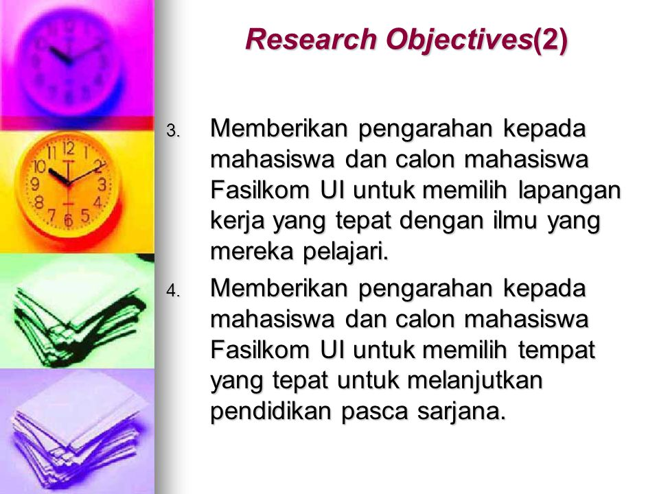 Research Objectives(2)