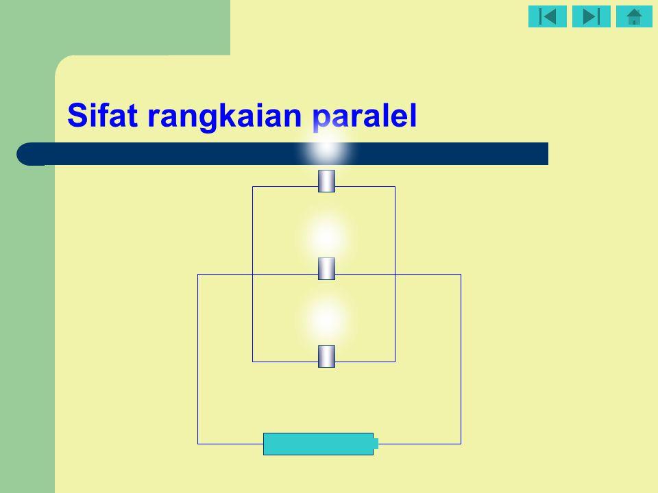 Sifat rangkaian paralel