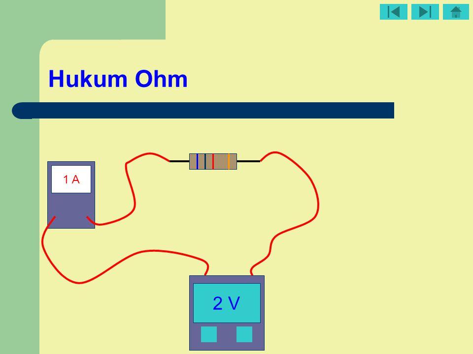 Hukum Ohm 1 A 2 V