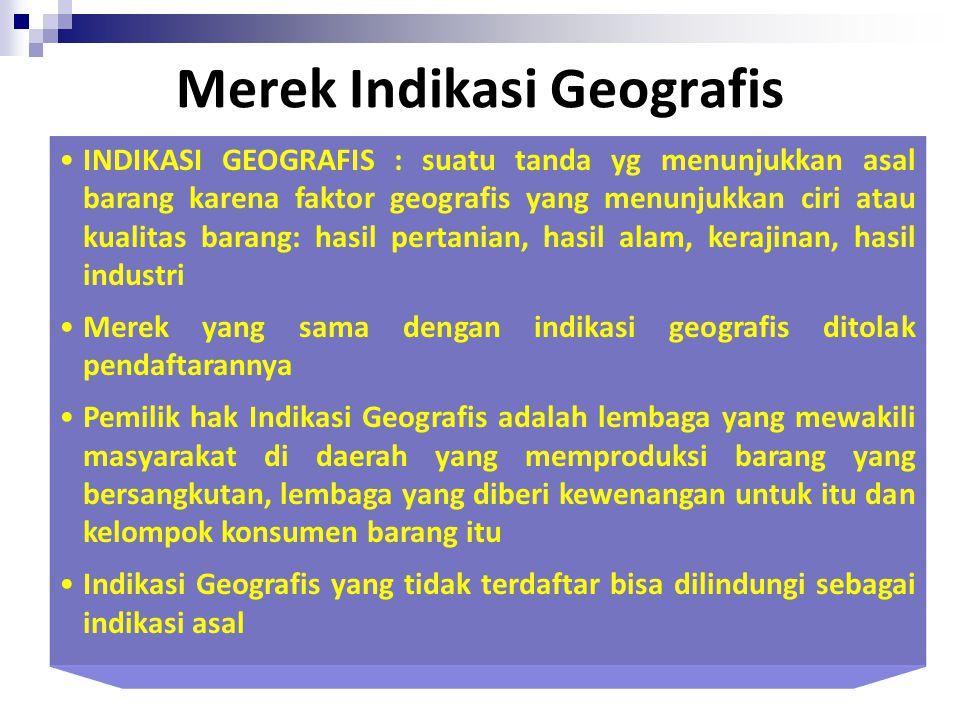 Merek Indikasi Geografis