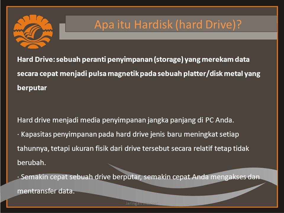 Apa itu Hardisk (hard Drive)