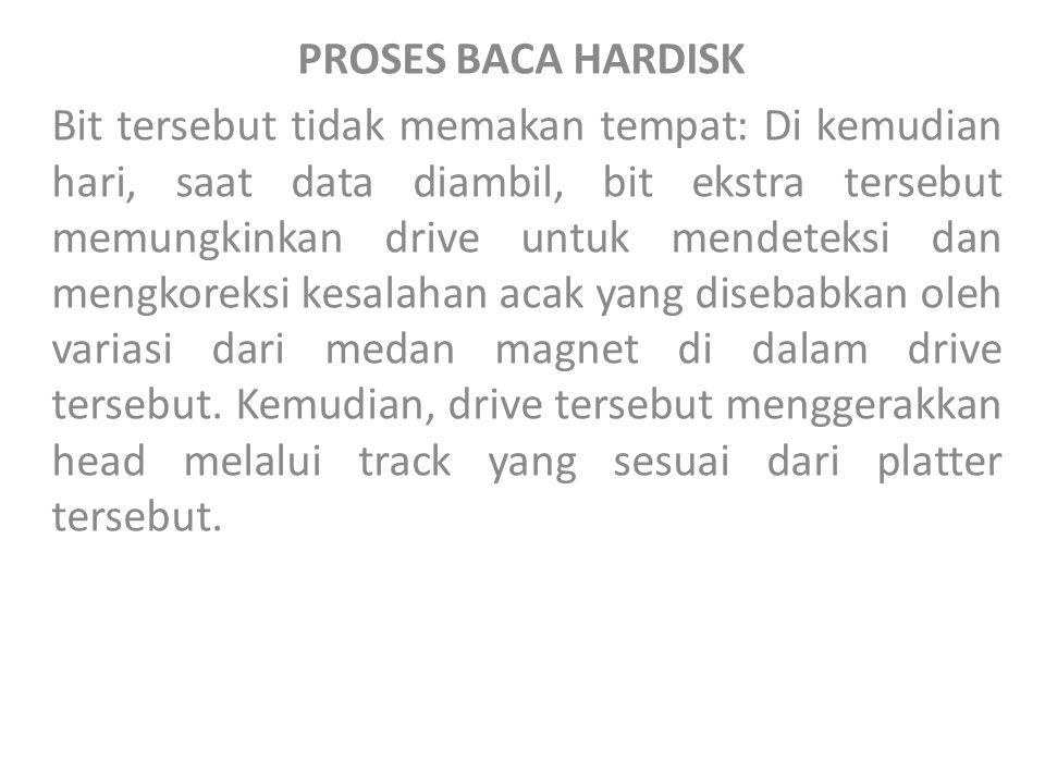 PROSES BACA HARDISK