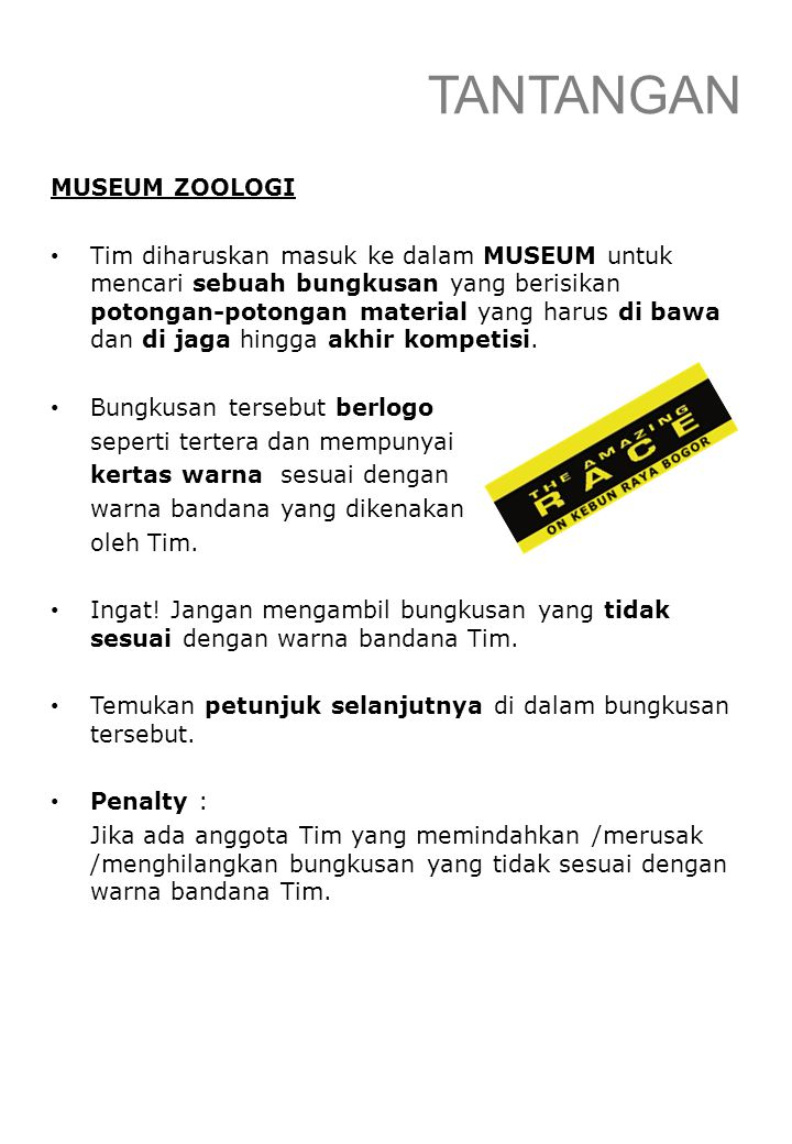 TANTANGAN MUSEUM ZOOLOGI