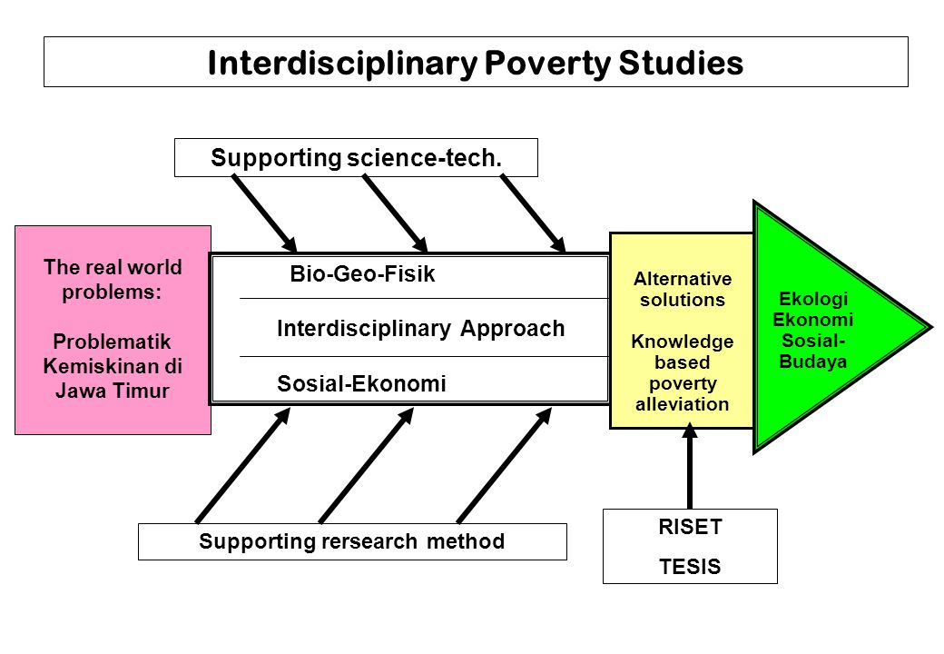 Interdisciplinary Poverty Studies