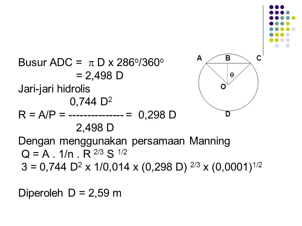 R = A/P = --------------- = 0,298 D 2,498 D