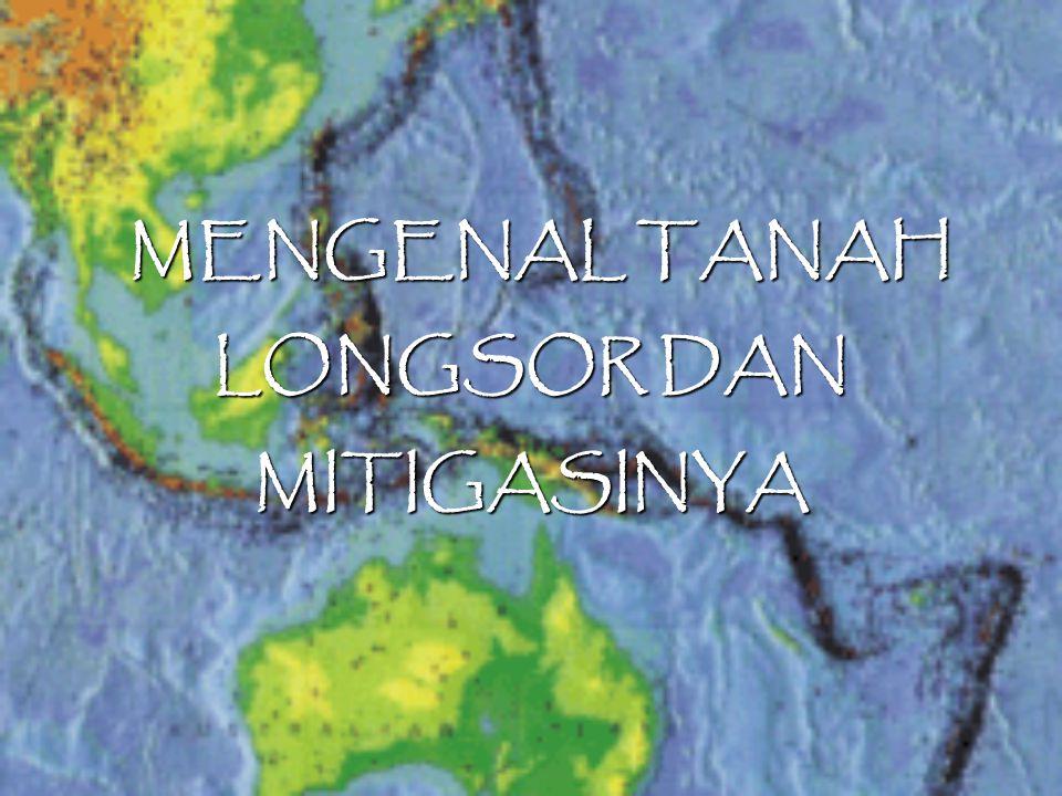 MENGENAL TANAH LONGSOR DAN MITIGASINYA