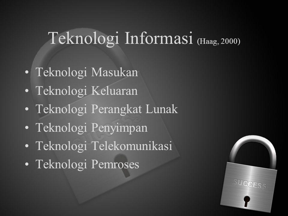 Teknologi Informasi (Haag, 2000)