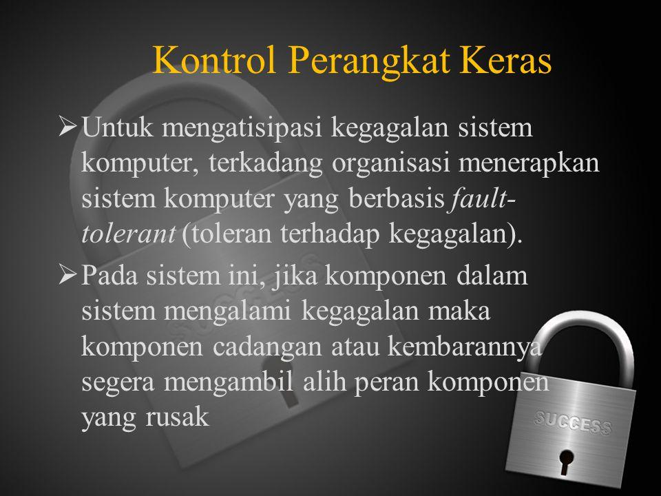 Kontrol Perangkat Keras