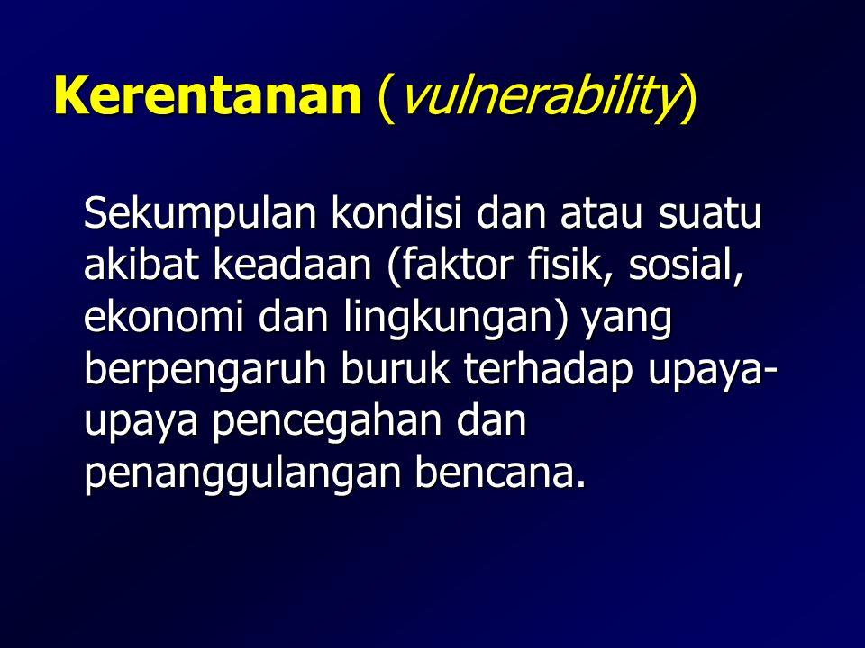 Kerentanan (vulnerability)
