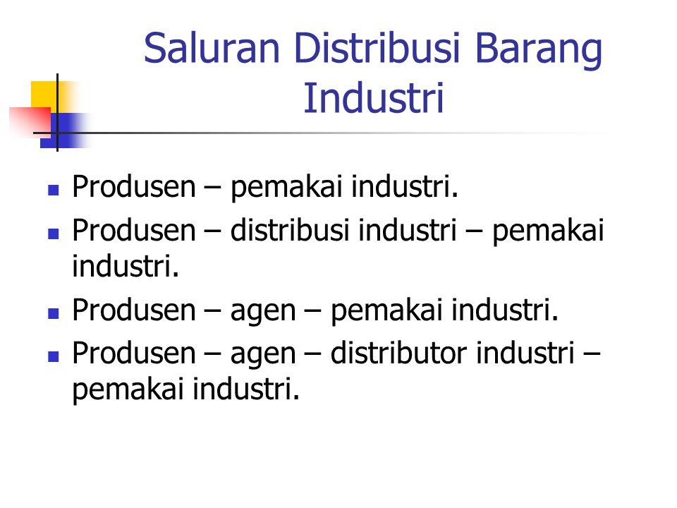 Saluran Distribusi Barang Industri