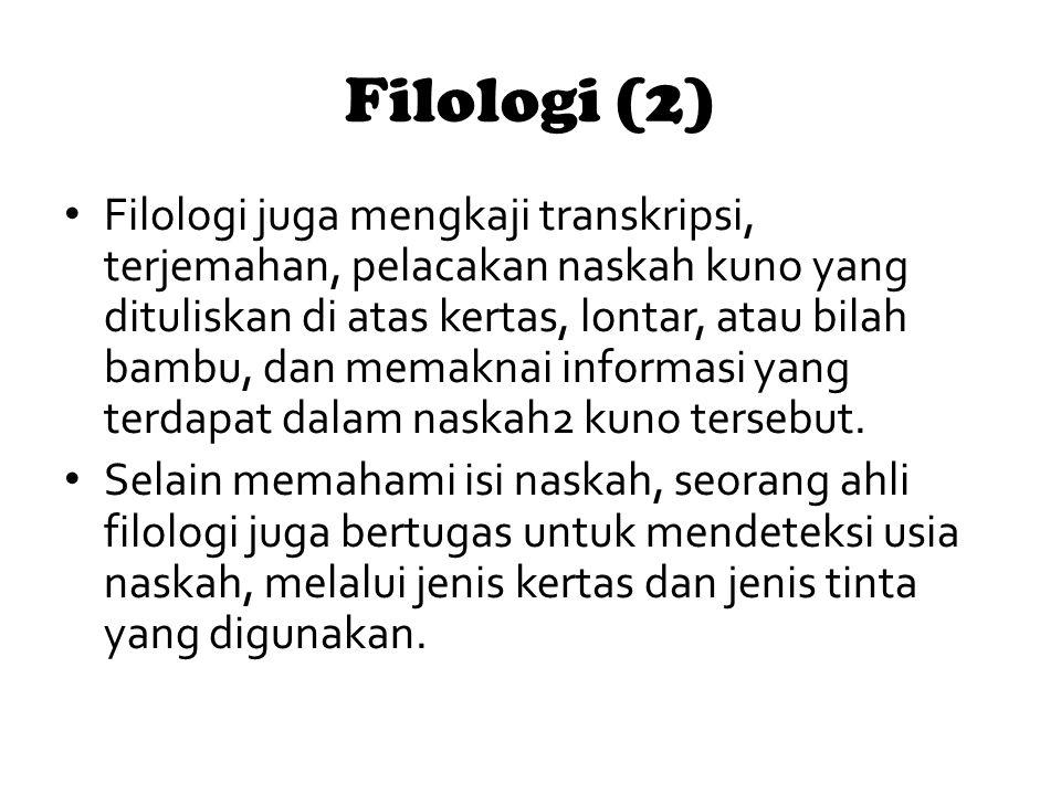 Filologi (2)