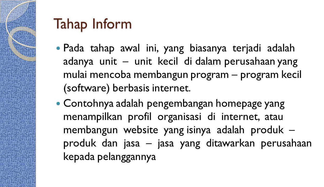 Tahap Inform