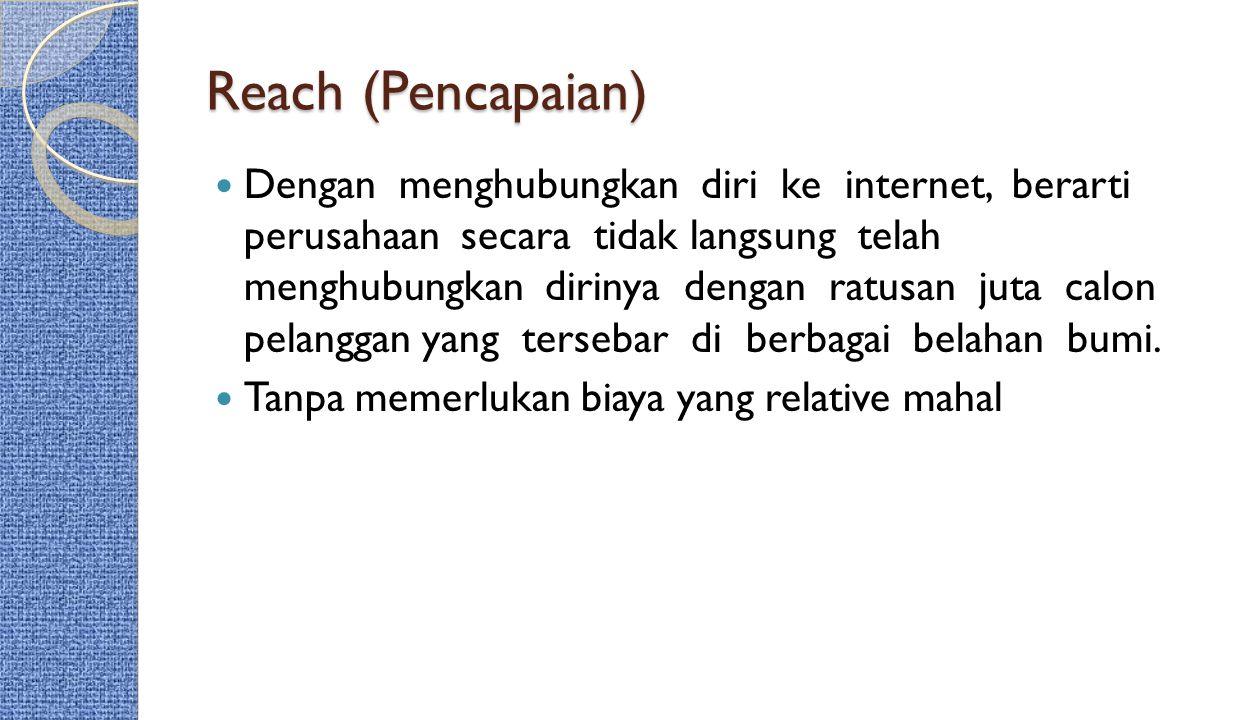 Reach (Pencapaian)