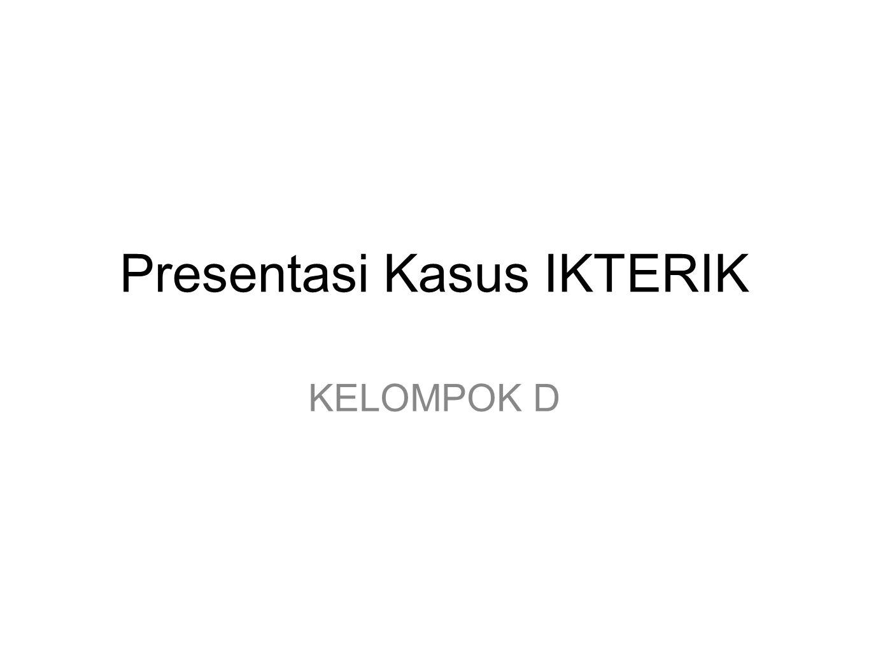 Presentasi Kasus IKTERIK