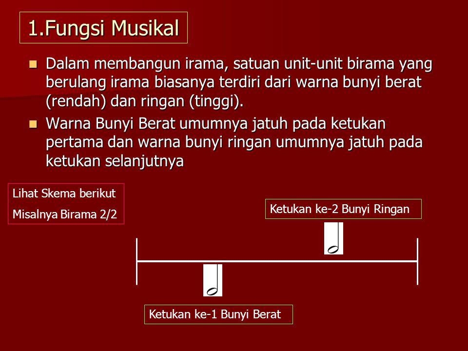 1.Fungsi Musikal