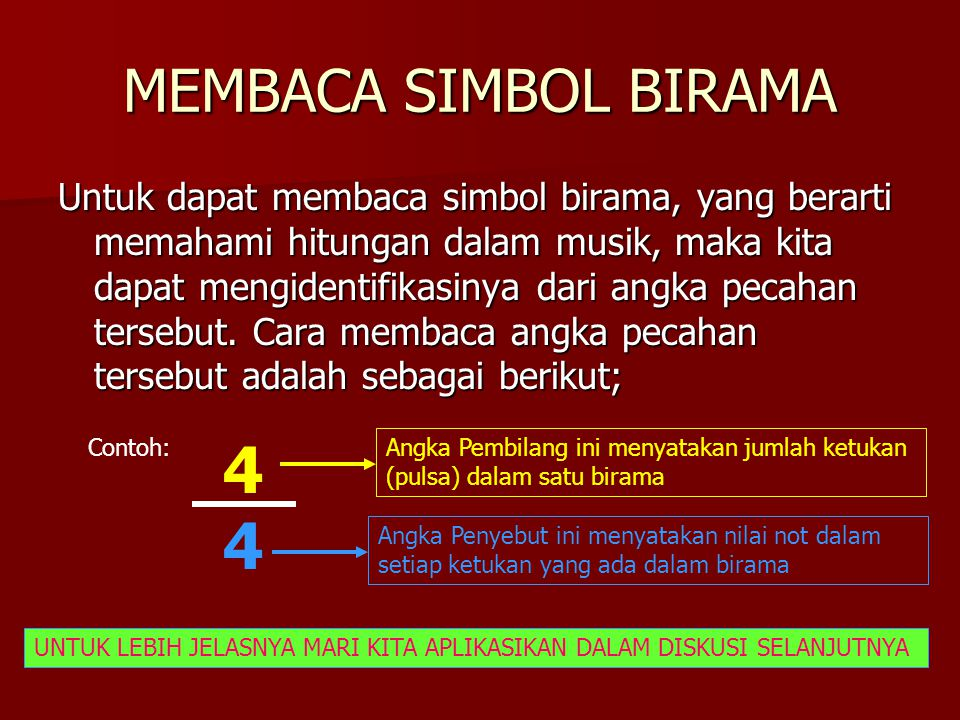 MEMBACA SIMBOL BIRAMA