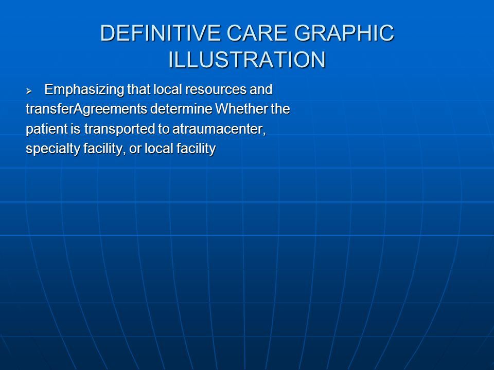DEFINITIVE CARE GRAPHIC ILLUSTRATION