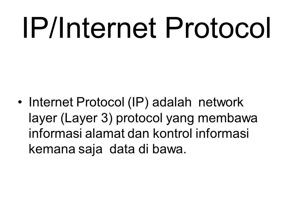 IP/Internet Protocol
