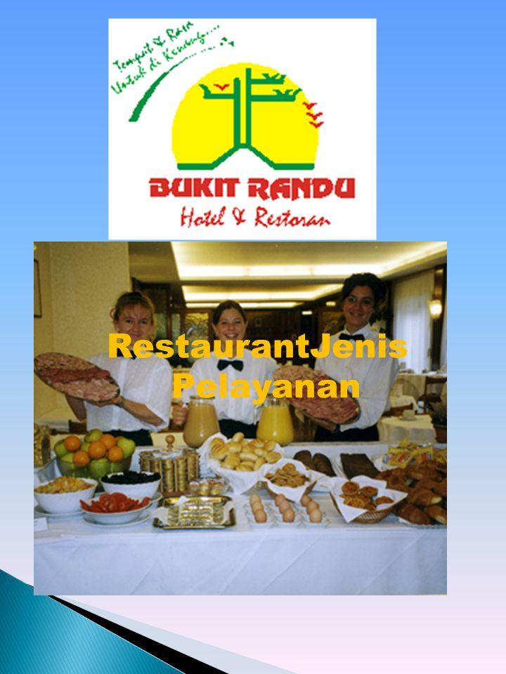 RestaurantJenis Pelayanan