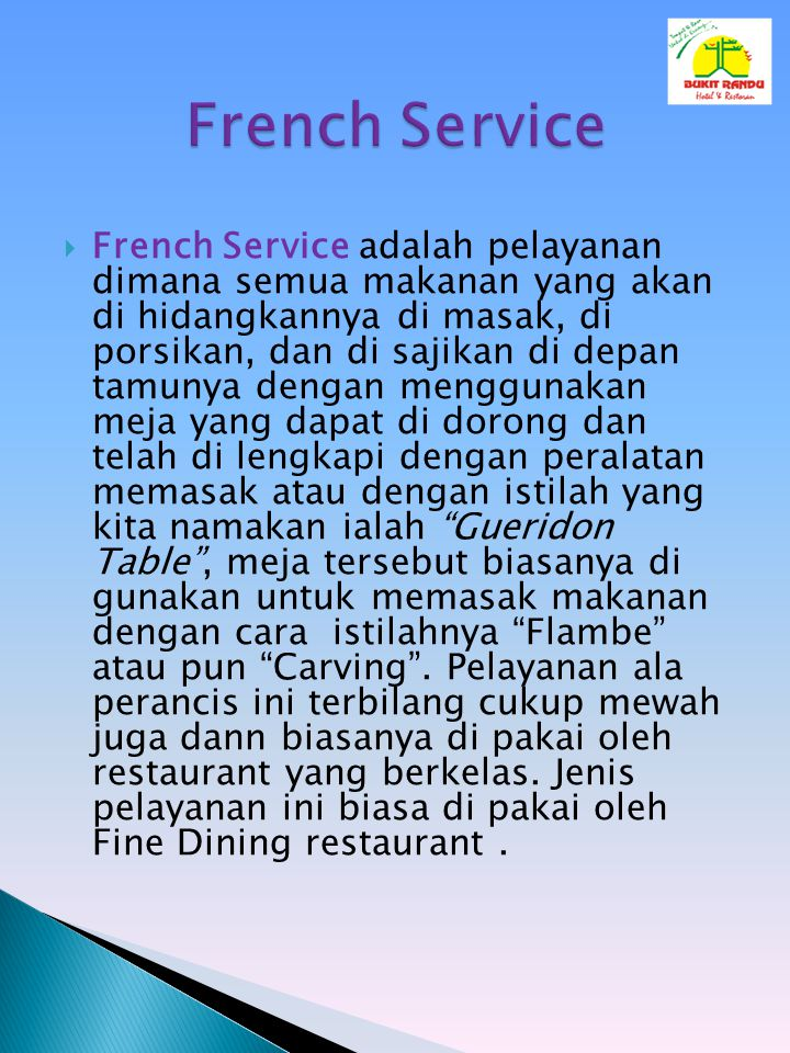 French Service