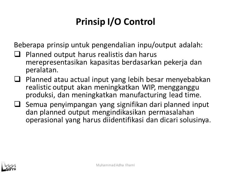 Prinsip I/O Control Beberapa prinsip untuk pengendalian inpu/output adalah: