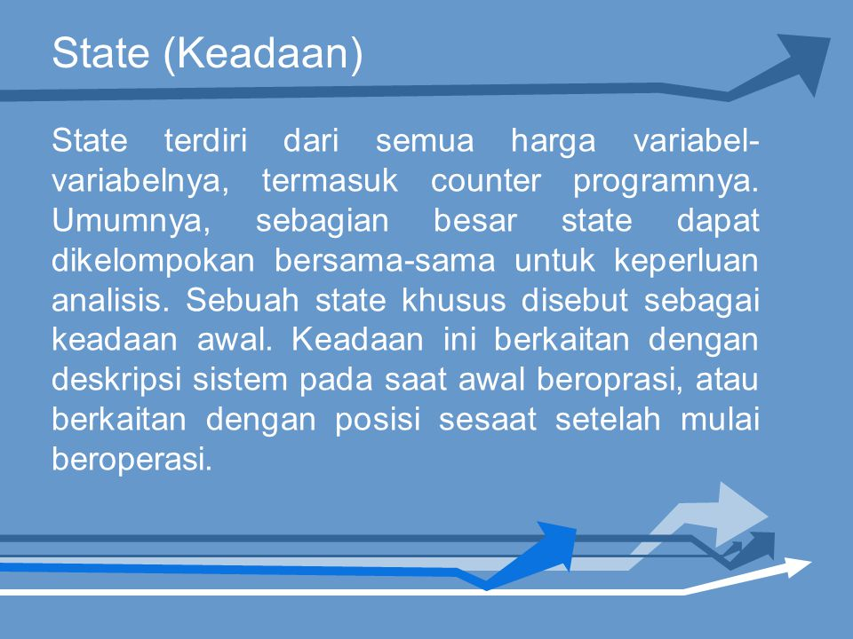 State (Keadaan)