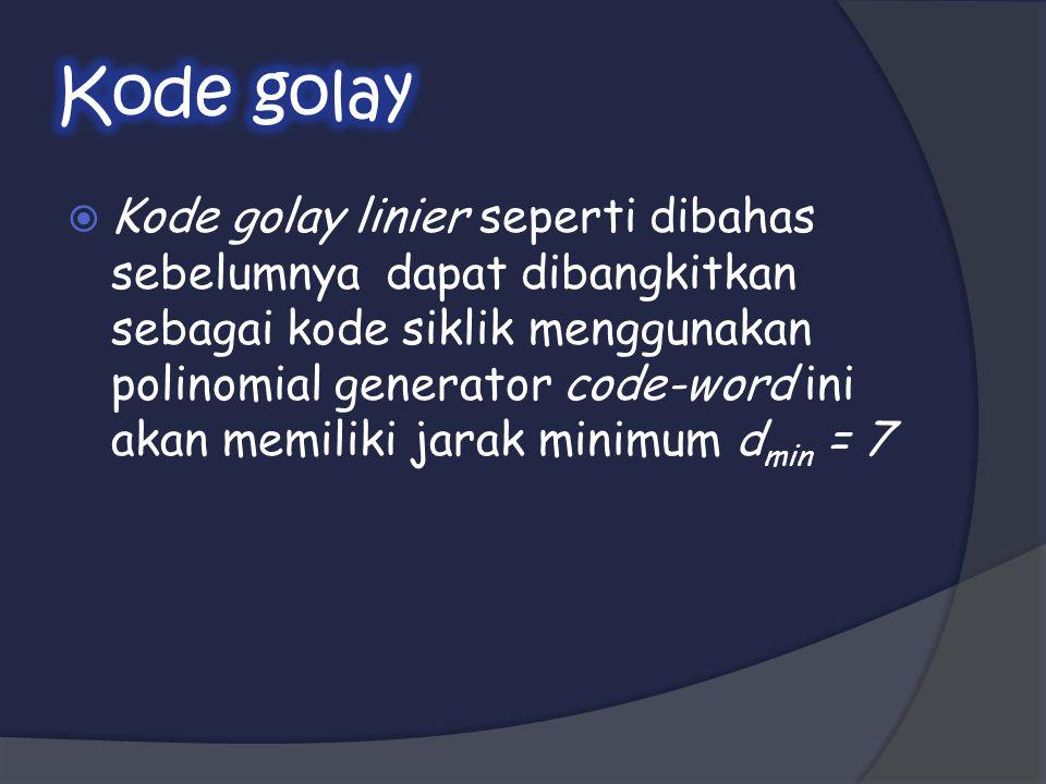 Kode golay